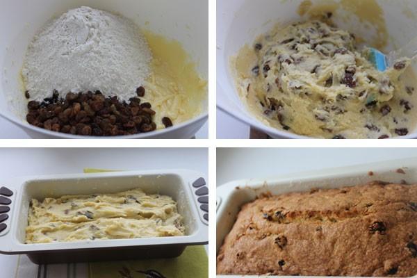 Замешиваем тесто и выпекаем в духовке