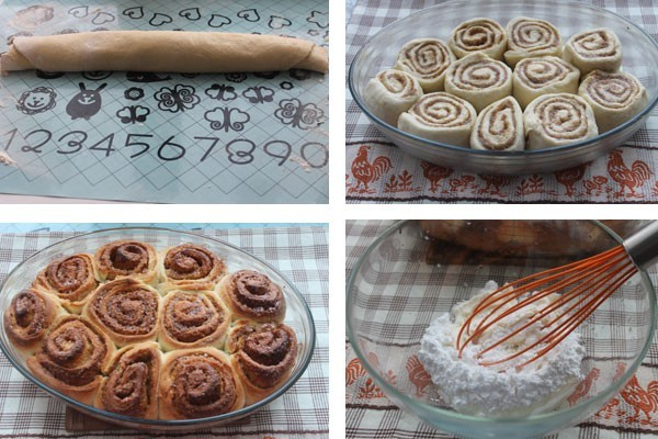 Пошаговый рецепт с фото булочек