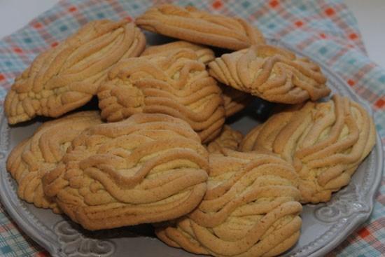 печенье через мясорубку Хризантема