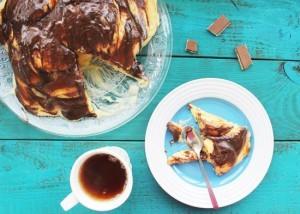 рецепт торта с замороженной вишней