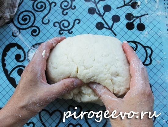 Тесто на кипятке рецепт с пошагово