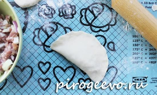 Как сделать тесто на кипятке для чебуреков