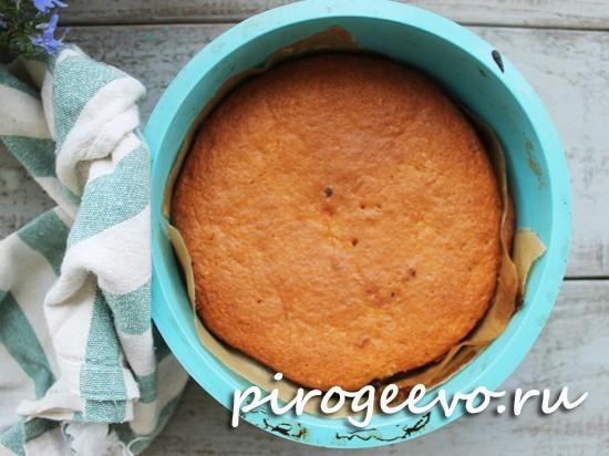 Выпекаем пирог в течение 30-40 минут