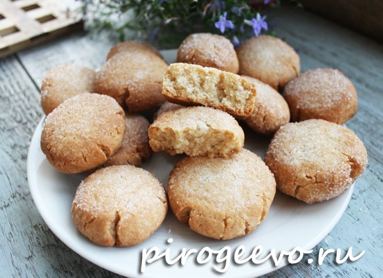 Медовое печенье простой рецепт