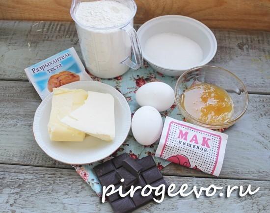Какие продукты нужны для печенья Грибочки