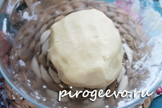 Тесто для курабье в домашних условиях готово