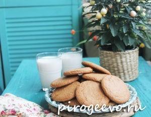 Вкусное печенье к молоку