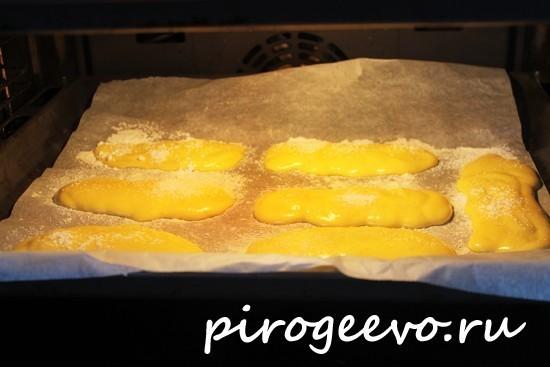 Печенье готовится в духовке 20-25 минут