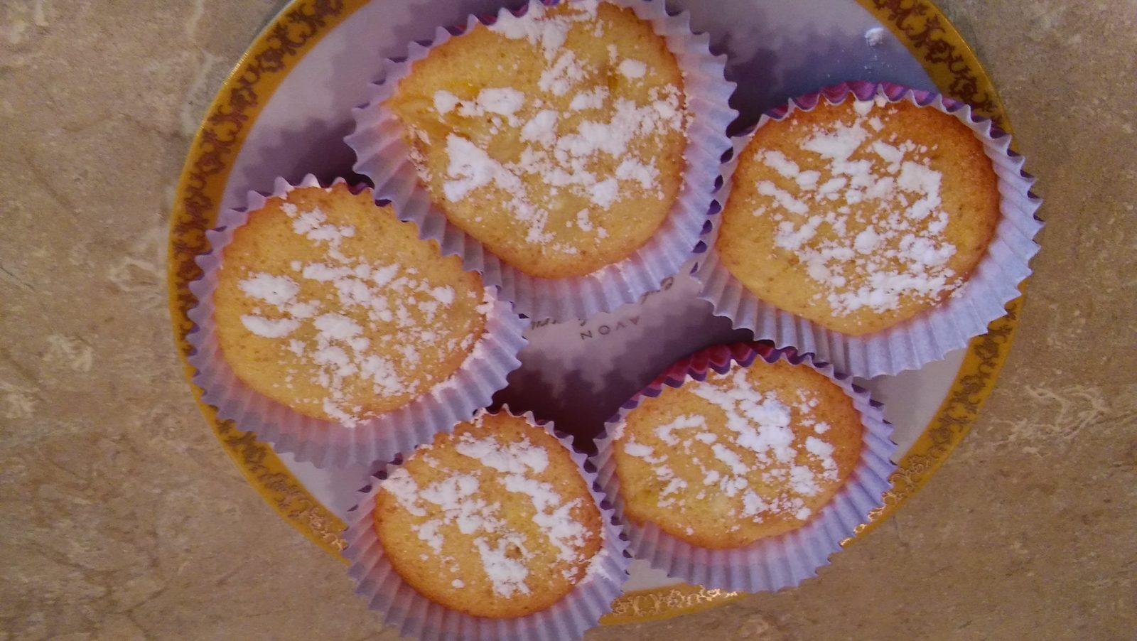 Кексы в силиконовой форме с начинкой - рецепт с фото 9
