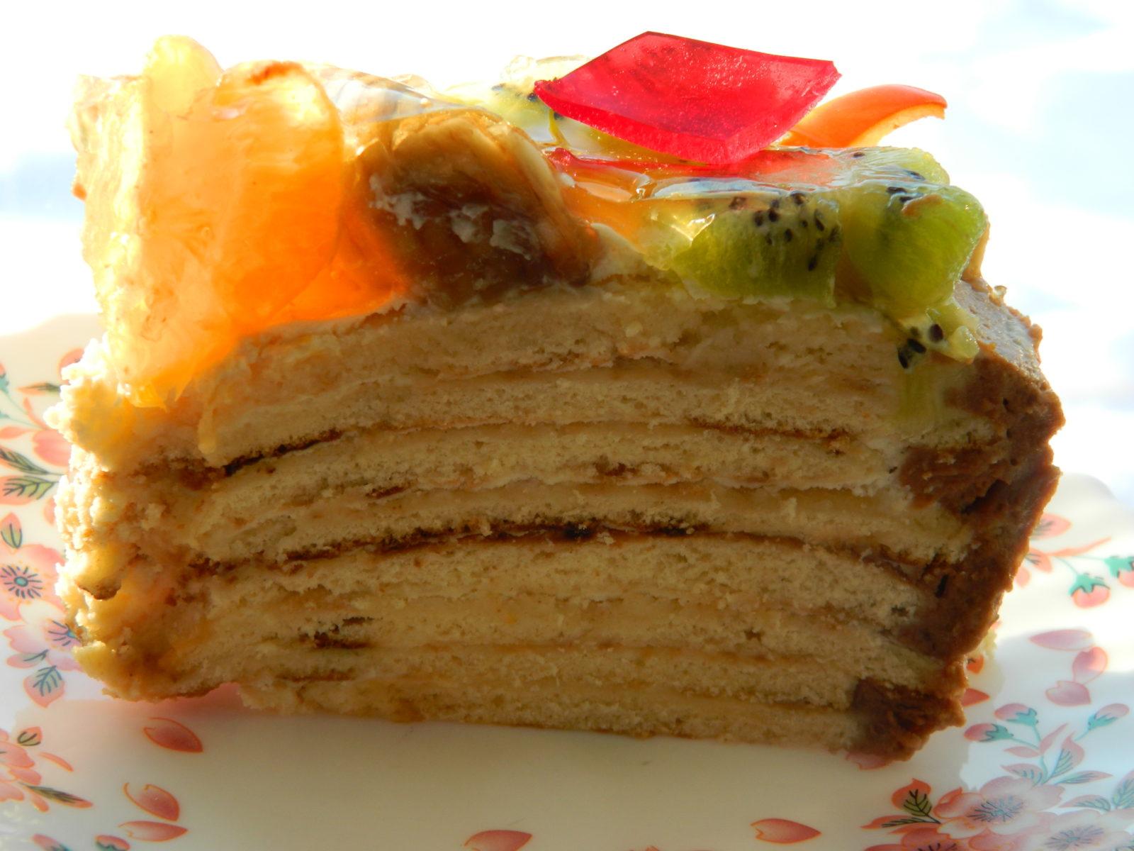 Рецепт торта на сковороде со сгущенкой пошагово в