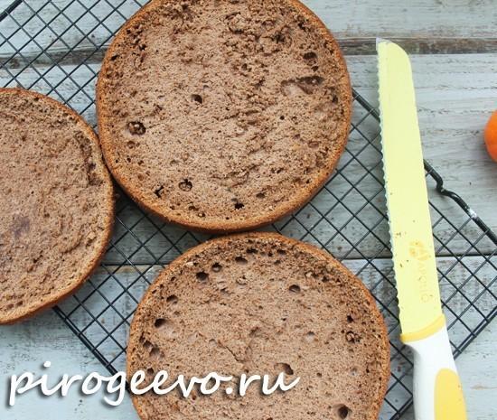 Как украсить торт пражский