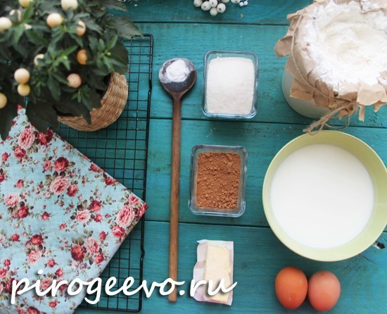 Как испечь шоколадный торт на сковороде