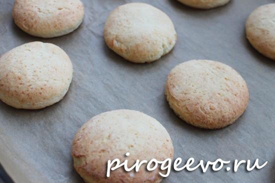 Печенье из творога готово