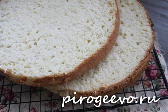 Шифоновый бисквит классический рецепт с фото
