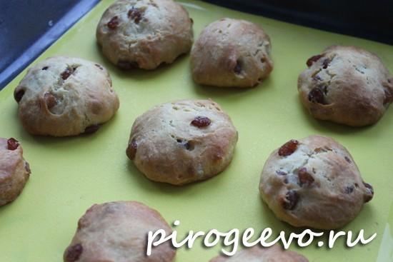 Постное печенье готово
