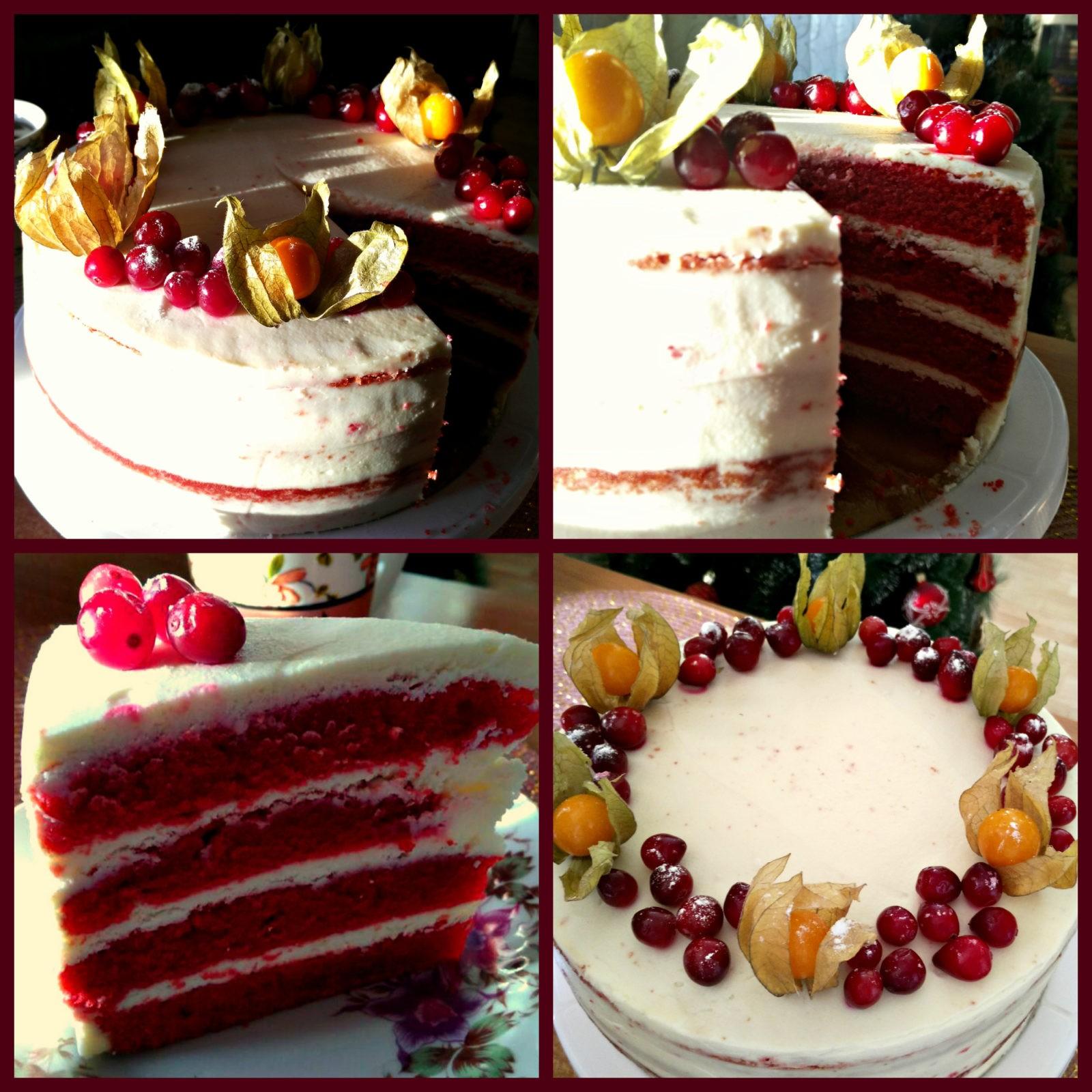 Торт красный бархат из свеклы рецепт пошагово