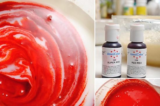 Как сделать краску цвета крови 317
