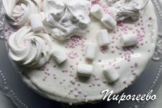 Торт украшаем на свой вкус