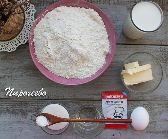 Как приготовить сдобное тесто для булочек