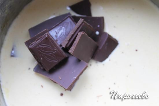 Как приготовить шоколадный ганаш для торта Сникерс