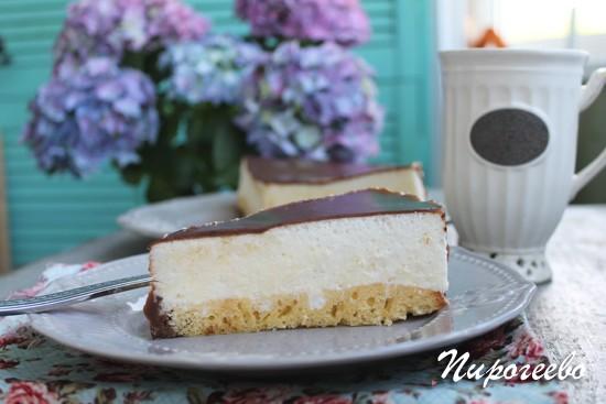 Торт Птичье молоко рецепт с фото пошагово