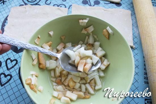 Как сделать слойки с сахаром 14