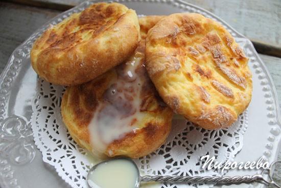 Румяные сырники из духовки