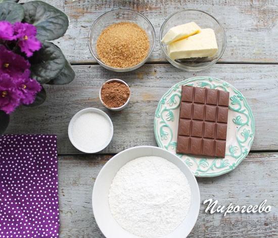 из каких продуктов приготовить американское шоколадное печенье