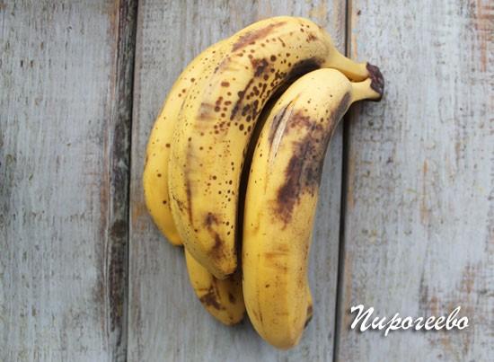 Спелые бананы для мороженого