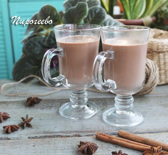 Горячий шоколад пошаговый рецепт с фото