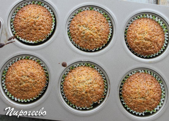 Лимонные пирожные готовы
