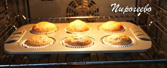 Маффины на кефире: пошаговый рецепт с фото