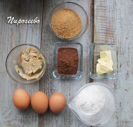 Готовим маффины с порошком какао