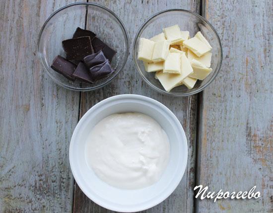 Как приготовить шоколадную глазурь для торта Эстерхази