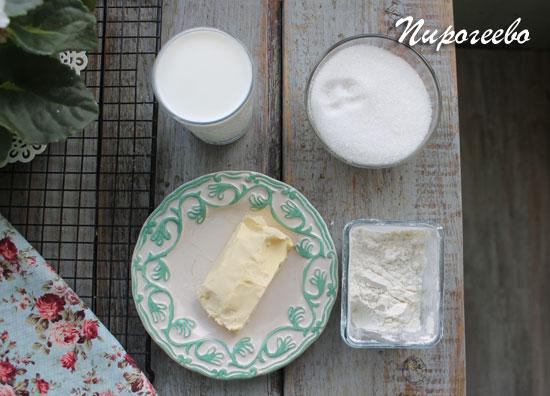 """Как приготовить заварной крем для торта """"Чародейка"""""""