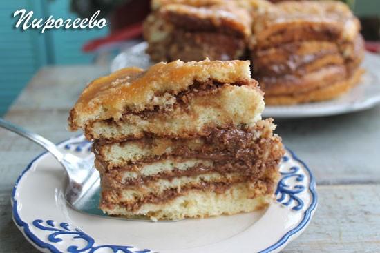 """Венгерский торт """"Добош"""""""