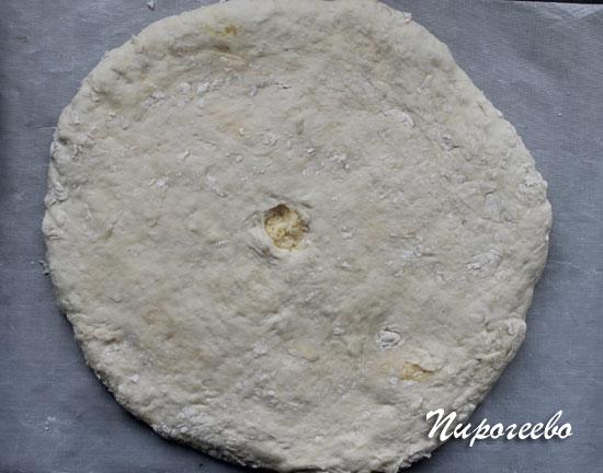 Вкусная дрожжевая лепешка по-грузински