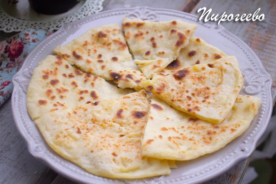 Хычины с картофелем и сыром:рецепт с фото пошагово