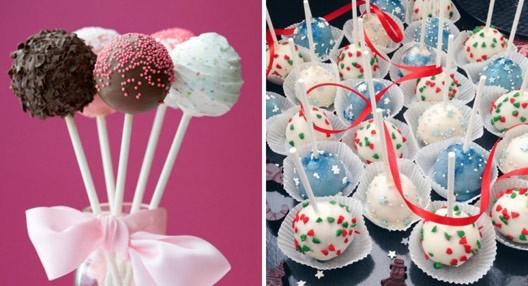 Как украсить кейк-попсы на Новый Год