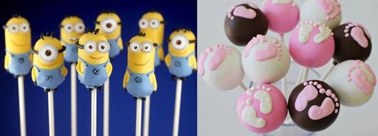 Кейк-попсы на детский день рождения