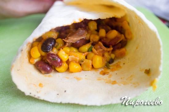 Буррито: рецепт с фото пошагово