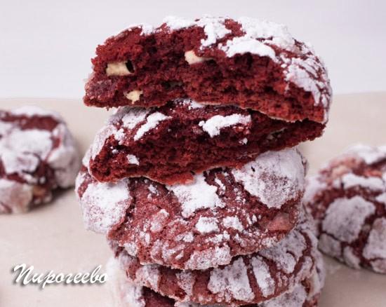 Печенье с трещинками в разломе рецепт