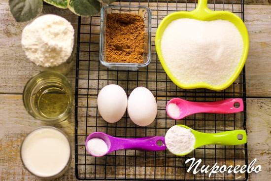 Как приготовить бисквит шоколад на кипятке