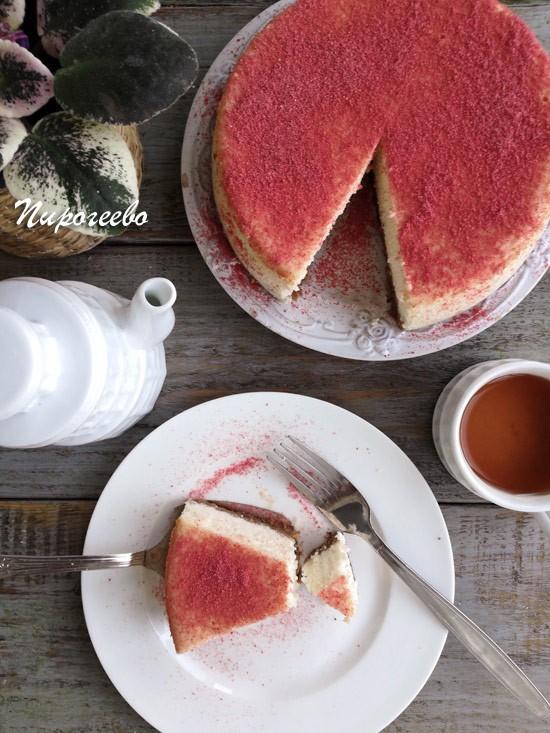 Чизкейк из творога рецепт с фото пошагово