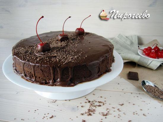 Шоколадный муссовый торт рецепт с фото