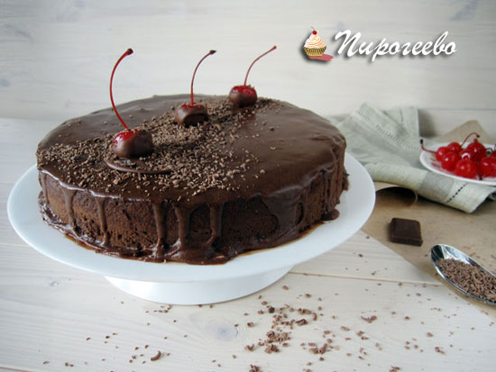 Шоколадный муссовый торт: подробный рецепт с фото