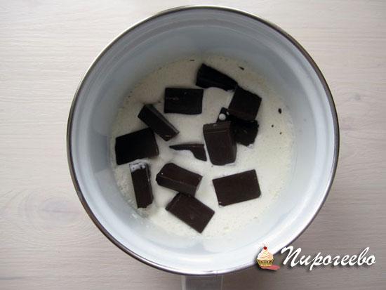 Готовим шоколадную эмульсию