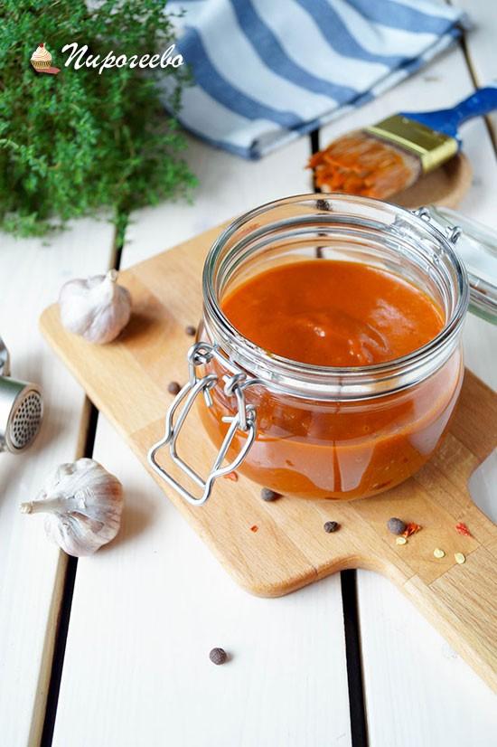 Вкусный соус для мяса