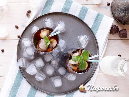 Как приготовить холодный кофе мохито