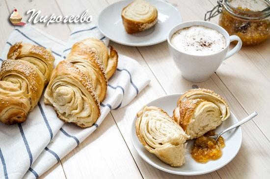 Вкусный французский багет к завтраку в домашних условиях